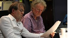 Director, Peter Kavanagh with Writer, Nigel Williams