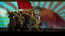 The Red Guards in Jung Chang's 'Wild Swans' at the Young Vic Theatre