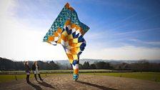 Wind Sculpture, 2013 by Yinka Shonibare MBE.  Photo Jonty Wilde.