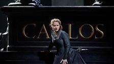 """Barbara Frittoli as Elisabeth de Valois in Verdi's """"Don Carlo."""""""