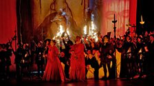 """A scene from Verdi's """"Don Carlo."""""""