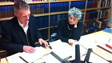 Tim Marlow and Ruth Smith at Foundling Hospital Museum