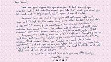 Simon's letter