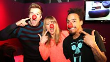 Greg, Sara and Dev join Grimmy in the studio