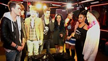 Little Mix and Union J await their cinnamon fate
