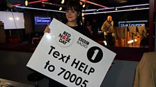Lily wants you to text 70005!