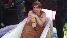 Worm Bath!