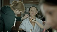 Pictures from the set of In The Flesh