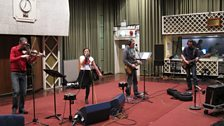 Zykopops in session for World on 3