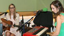 Jenn Bostic and Emma Stevens live in session