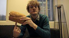 James on balancing Tiger bread like a basketball