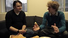 Nathaniel on arguing about brioche with James