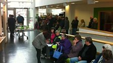 Hoardes of green-fingered listeners arrive at BBC Radio Leicester