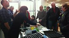 Excitement in the Open Centre for Grow Your Own