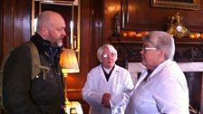 Tim Hayward with the marmalade judges