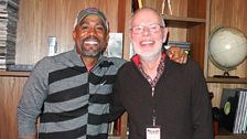 Bob with Darius Rucker
