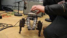 Guitarist John Coxon 26 March 2013