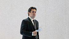 """Saimir Pirgu as Alfredo in Verdi's """"La Traviata."""""""
