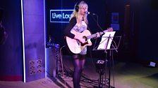 Nina Nesbitt performs a Live Lounge Late