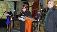 Cathy NicDhòmhnaill, Anna Nic na Ceàrdaich agus Mgr Ros Crichton