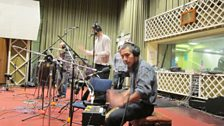 Los Chinches in session for World on 3