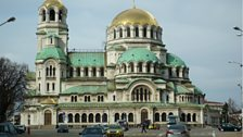 Nevsky Cathedral in Sofia, Bulgaria
