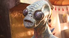 The Making of The Rings of Akhaten: The Aliens