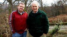 Raymond Mearns and Roy Dennis