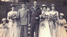 Lionel Wood's wedding in 1945