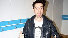 Grimmy trains with Tottenham!