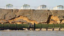 Cliffs under pressure