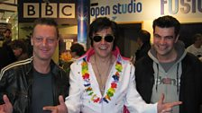 Elvis was in the building to open the sale