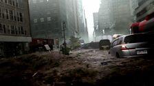 Tsunami hits Manhattan