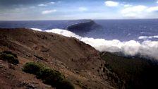 The tsunami starts its destructive journey