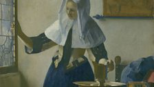 Johannes Vermeer, Young Woman with a Water Pitcher, c. 1662