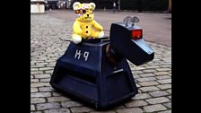 Pudsey with K9