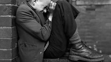 Chris Killip, Youth on Wall, Jarrow, Tyneside, 1976