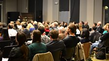 The Any Questions audience at Columbia University
