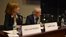 Nan Hayworth & Harry Evans