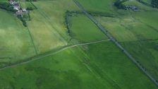 The Vallum on Hadrian's Wall. Ben Robinson