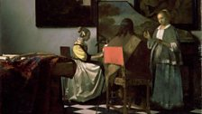 The Concert, by Johannes Vermeer, (1658–1660) stolen from Isabella Stewart Gardner Museum in 1990