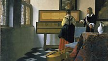 Johannes Vermeer, The Music Lesson, c. 1662-3
