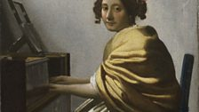 Johannes Vermeer, Young Woman Seated at a Virginal, c. 1670-72