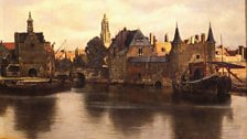 Johannes Vermeer, View of Delft, c.1660-61