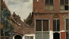Johannes Vermeer: View of Houses in Delft, known as 'The Little Street', c.1658