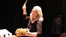 Ali Craig created live 'Spot' FX on stage with the actors