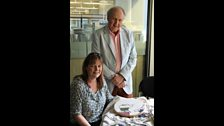 Susie Finlayson - Embroiderer & Alexander McCall Smith - Author
