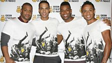 JLS at BBC Children in Need