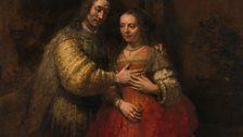 Rembrandt van Rijn, The Jewish Bride, 1665