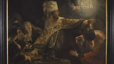 Rembrandt van Rijn, Belshazzar's Feast, about 1636-8